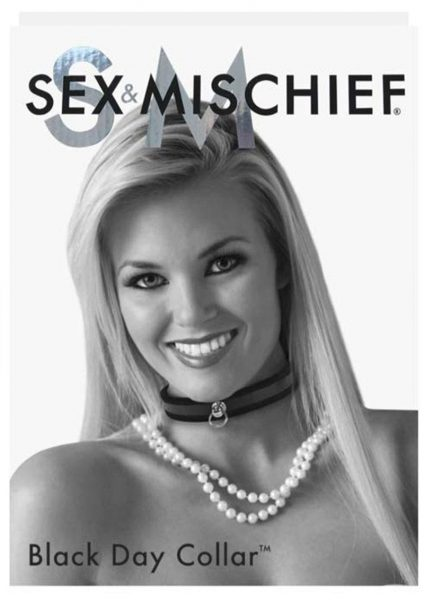 Sex And Mischief Day Collar Black
