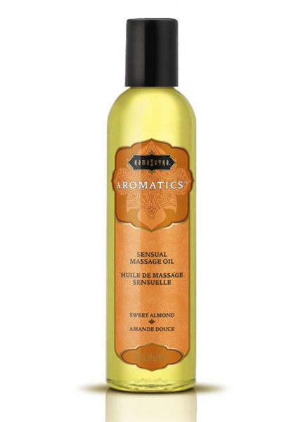 Aromatics Sensual Massage Oil Sweet Almond 2 Ounce