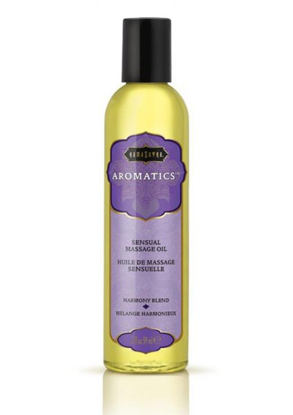 Aromatics Sensual Massage Oil Harmony Blend 2 Ounce