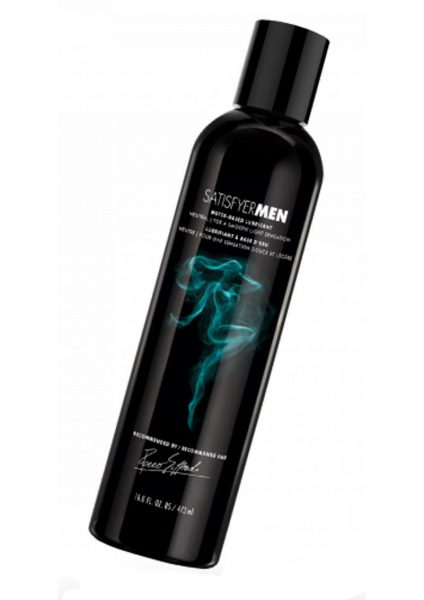 Satisfyer Men Water-Based Lubricant Neutral 16 Ounce