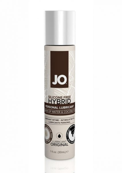Jo Silicone Free Hybrid Original Personal Lubricant Water And Coconut Oil 1 Ounce