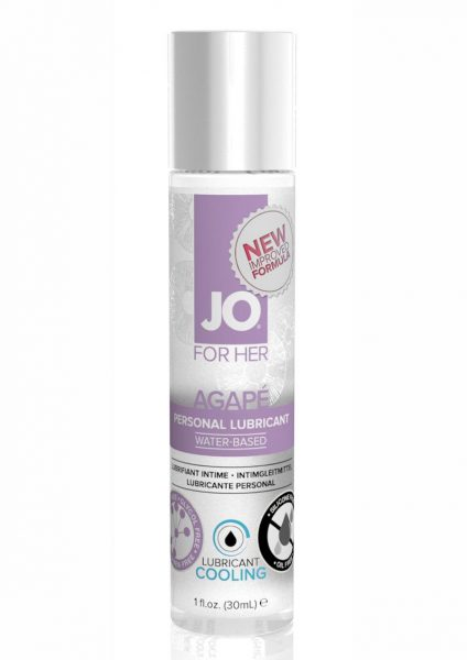 Jo Agape Cooling Personal Lubricant 1 Ounce