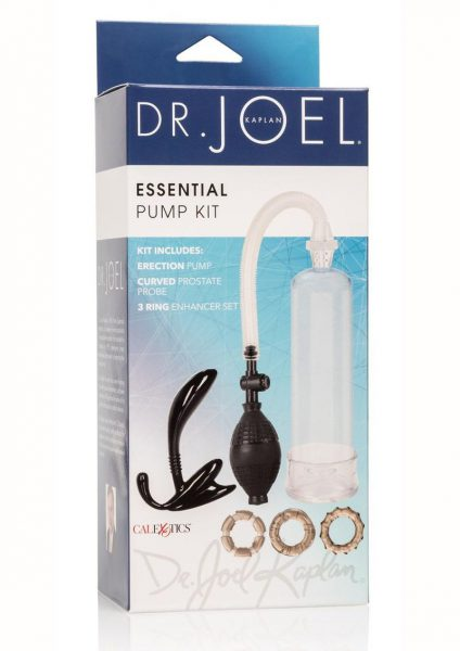 Calexotics Dr. Joel Kaplan Essential Pump Kit Clear