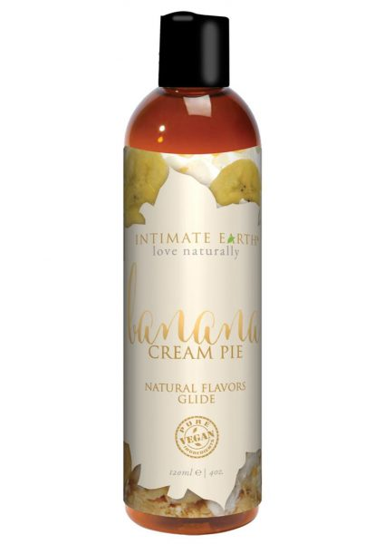 Intimate Earth Natural Flavors Glide Banana Creampie 4 Ounces