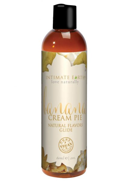 Intimate Earth Natural Flavors Glide Banana Creampie 2 Ounces