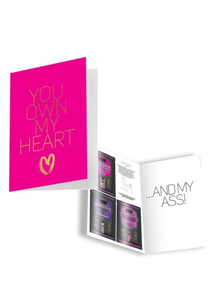Naughty Notes Greeting Card You Own My 1 Card