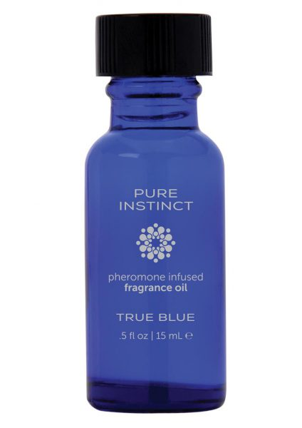 Pure Instinct Pheromone Infused Fragrance Oil True Blue 0.5 Ounces