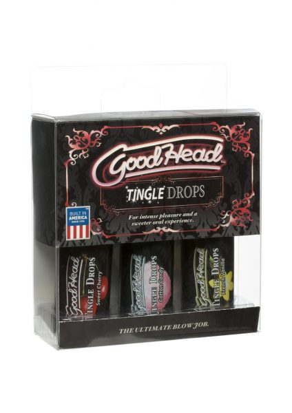 GoodHead Tingle Drops Assorted Flavors 3 Each Per Pack