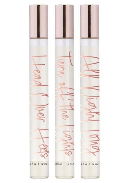 CG Perfume Trio Pheromone Perfume Oil Gift Set 3 Scents Per Set