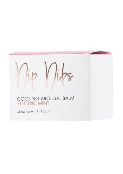 CG Nip Nibs Cooling Arousal Balm Electric Mint .5 Ounce Jar