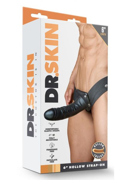 Dr Skin Hollow Strapon 6 inch
