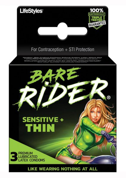 Bare Rider 3`s Condoms
