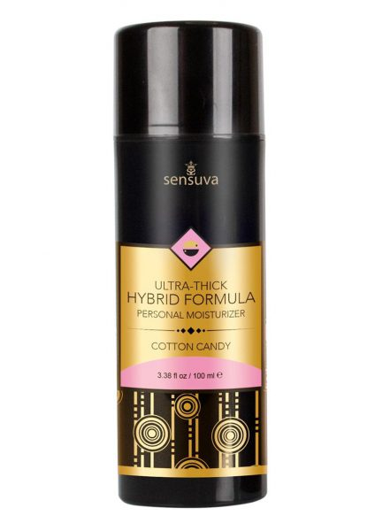 Ultra Thick Hybrid Formula Flavored Personal Moisturizer Cotton Candy 3.38 Ounces