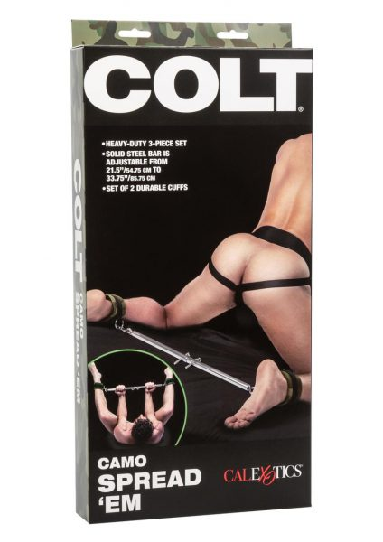Colt Camo Spread Em 3-piece Set Bondage