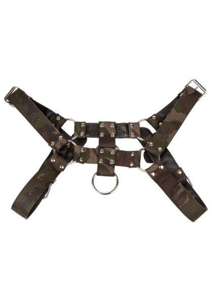 Colt Camo Chest Harness Bondage