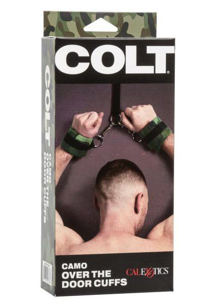 Colt Camo Over The Door Cuffs Adjustable Bondage