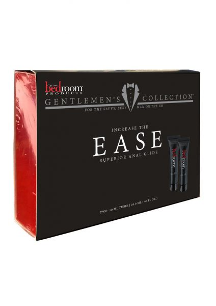 Bedroom Products Ease Superior Anal  Glide .67 oz. Tube 2pack