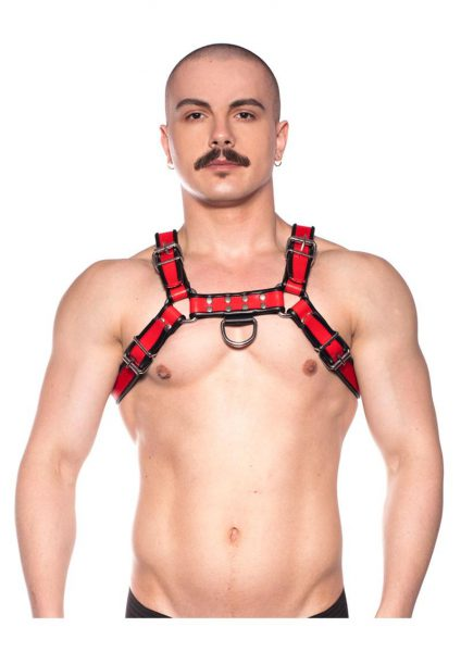 Prowler Red Bull Harness Blk/red Lg