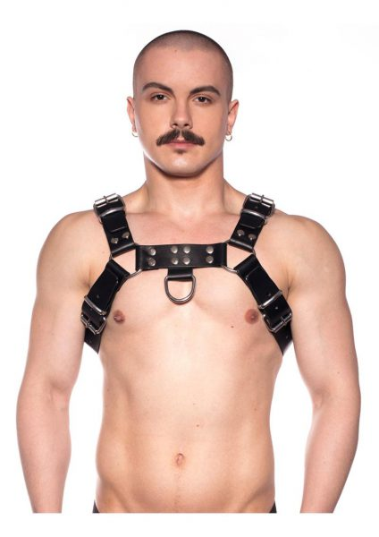Prowler Red Butch Harness Blk/silv Lg