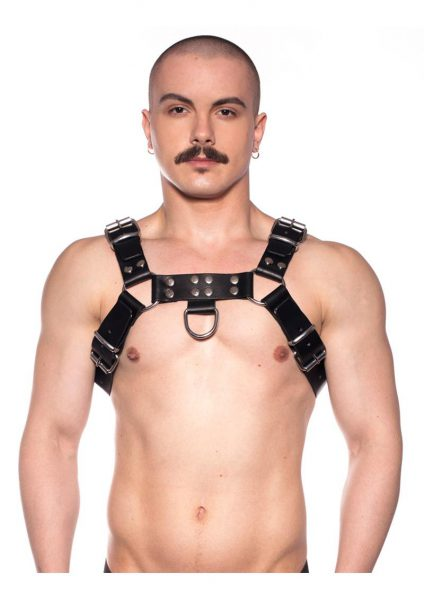 Prowler Red Butch Harness Blk/silv Sm