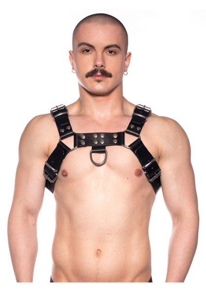 Prowler Red Butch Harness Blk/silv Xl