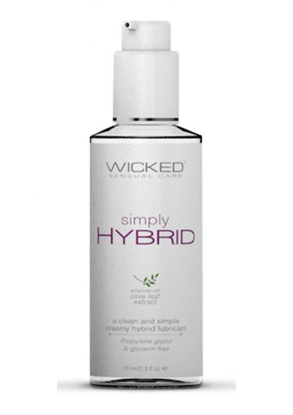 Wicked Sensual Care Simply Hybrid With Olive Leaf Extract 2.3 Ounce Bottle