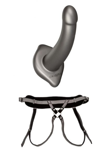 Her Royal Harness The Royal Ultra-Soft Set Regal Princess Harness With ME2 Silicone G-Probe Grey