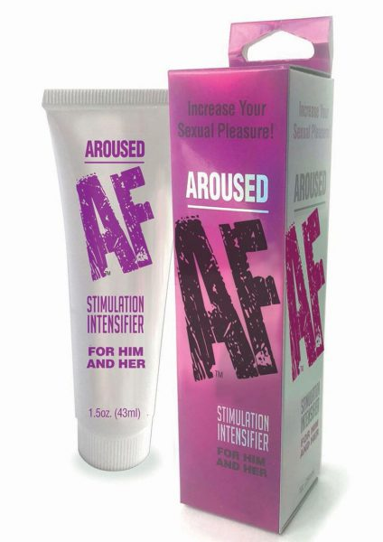 Aroused AF Cream Stimulation Intensifier For Him And Her 1.5 Ounce Tube