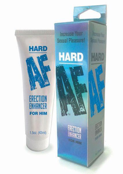 Hard AF Erection Enhancer Cream For Him 1.5 Ounce Tube