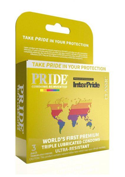 Pride Classic Condoms 3pk