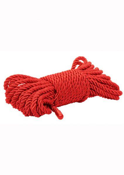 Scandal Bdsm Rope 10m Red
